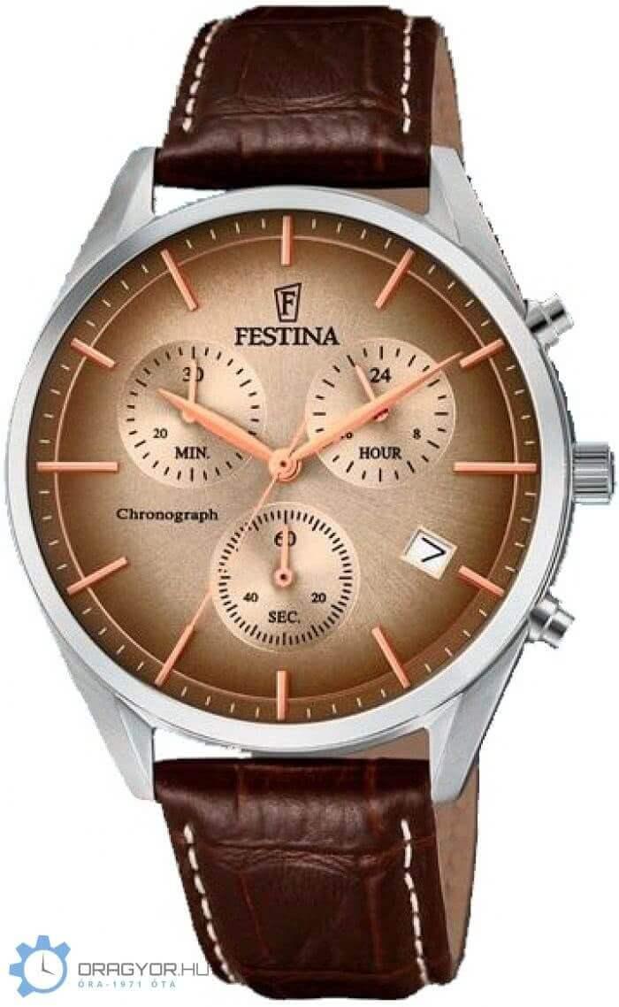 Festina Retro Férfi Óra F 6860-1 04477e413b