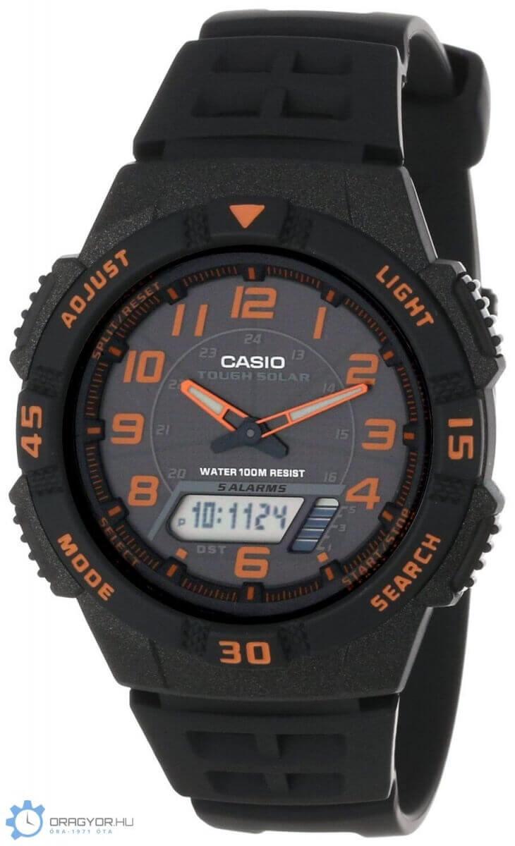 Napelemes Analóg Férfi Óra AQ-S800W-1B2VEF Casio